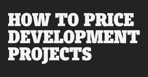 How To Price Development Services