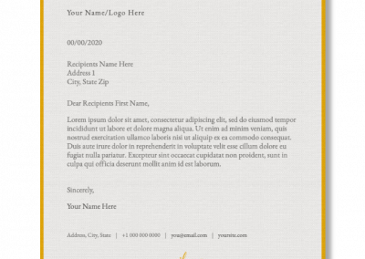 Emailnery™ Expression Letterhead